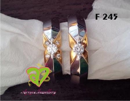 Cincin Kawin Palladium F 245